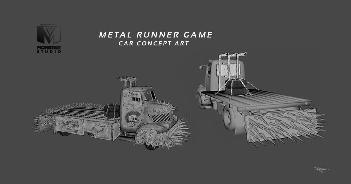 Truck Concept Art