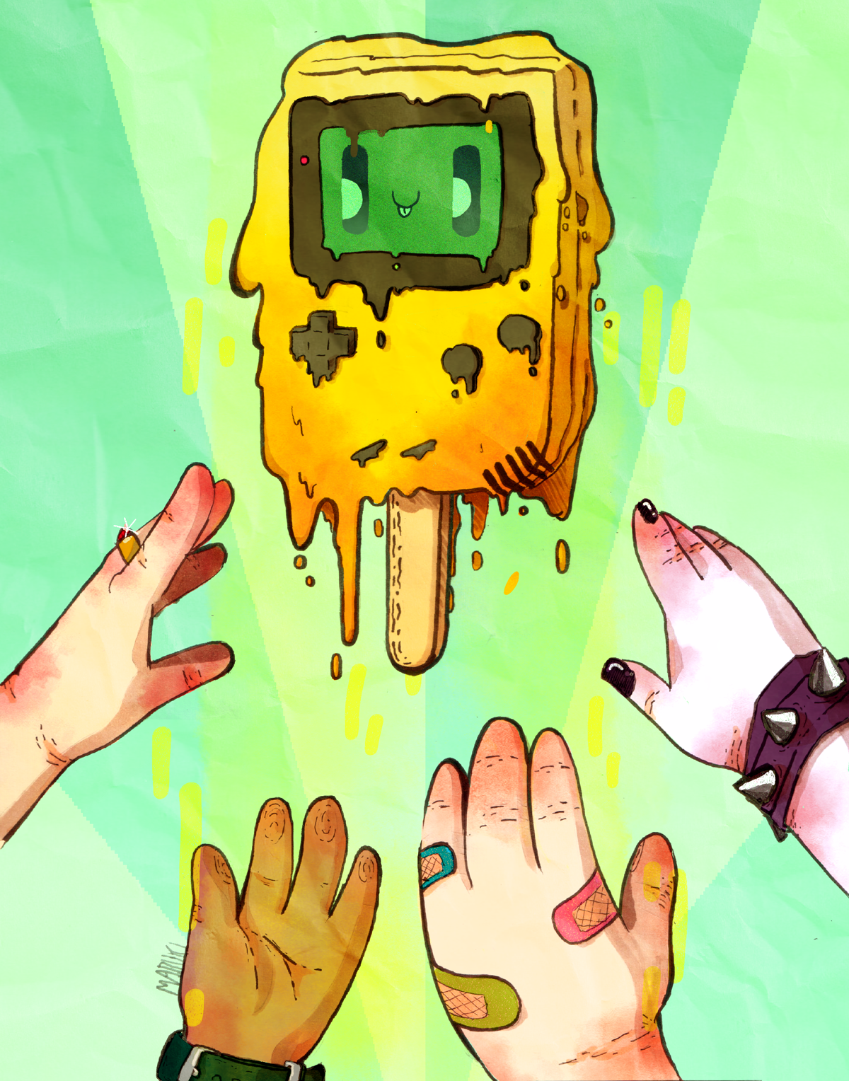 Gameboy popsicle limited edition