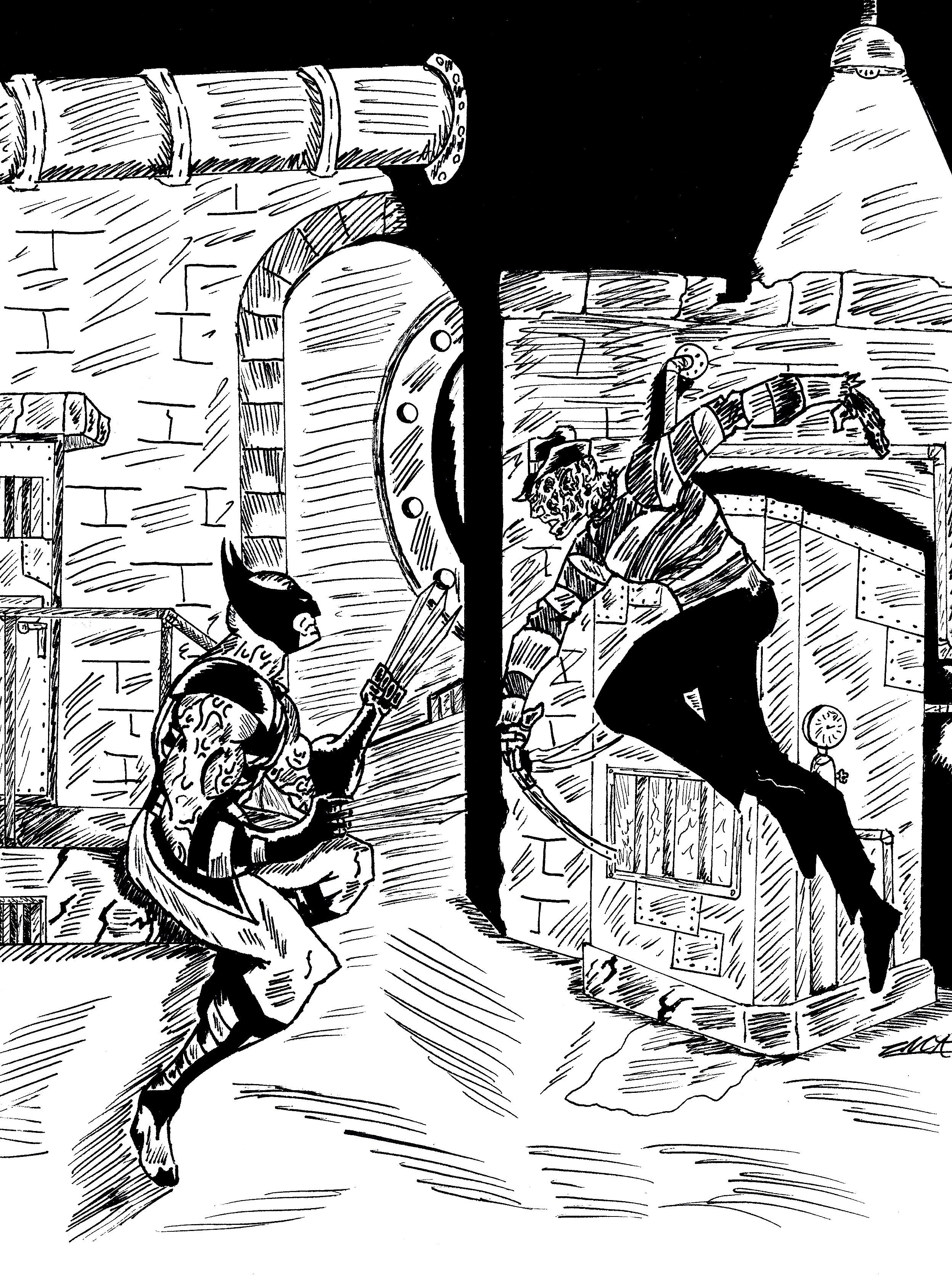 Wolverine VS Freddy Krueger