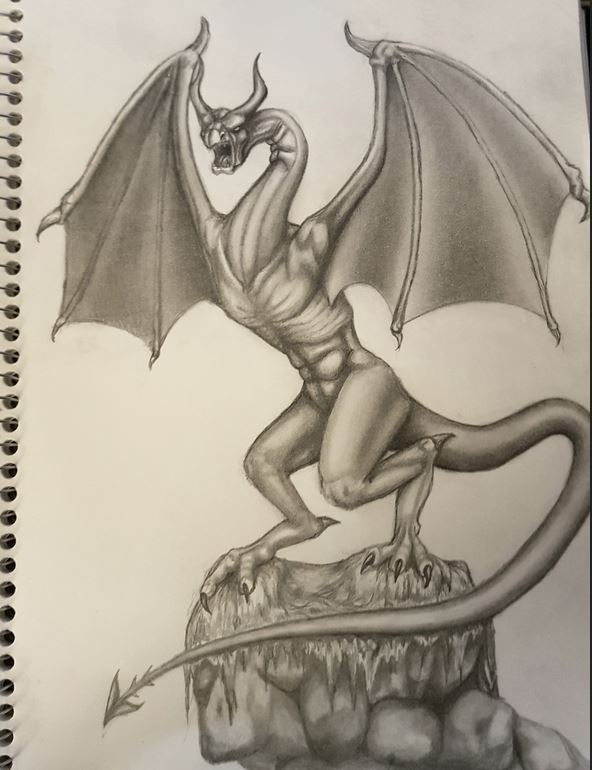Wyvern sketch