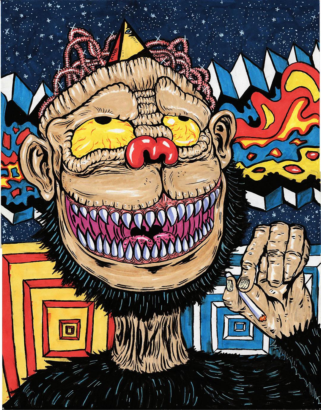 Stoner Ape Theory