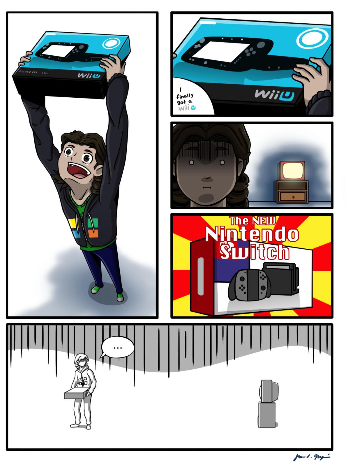 The New Nintendo Switch (Comic)