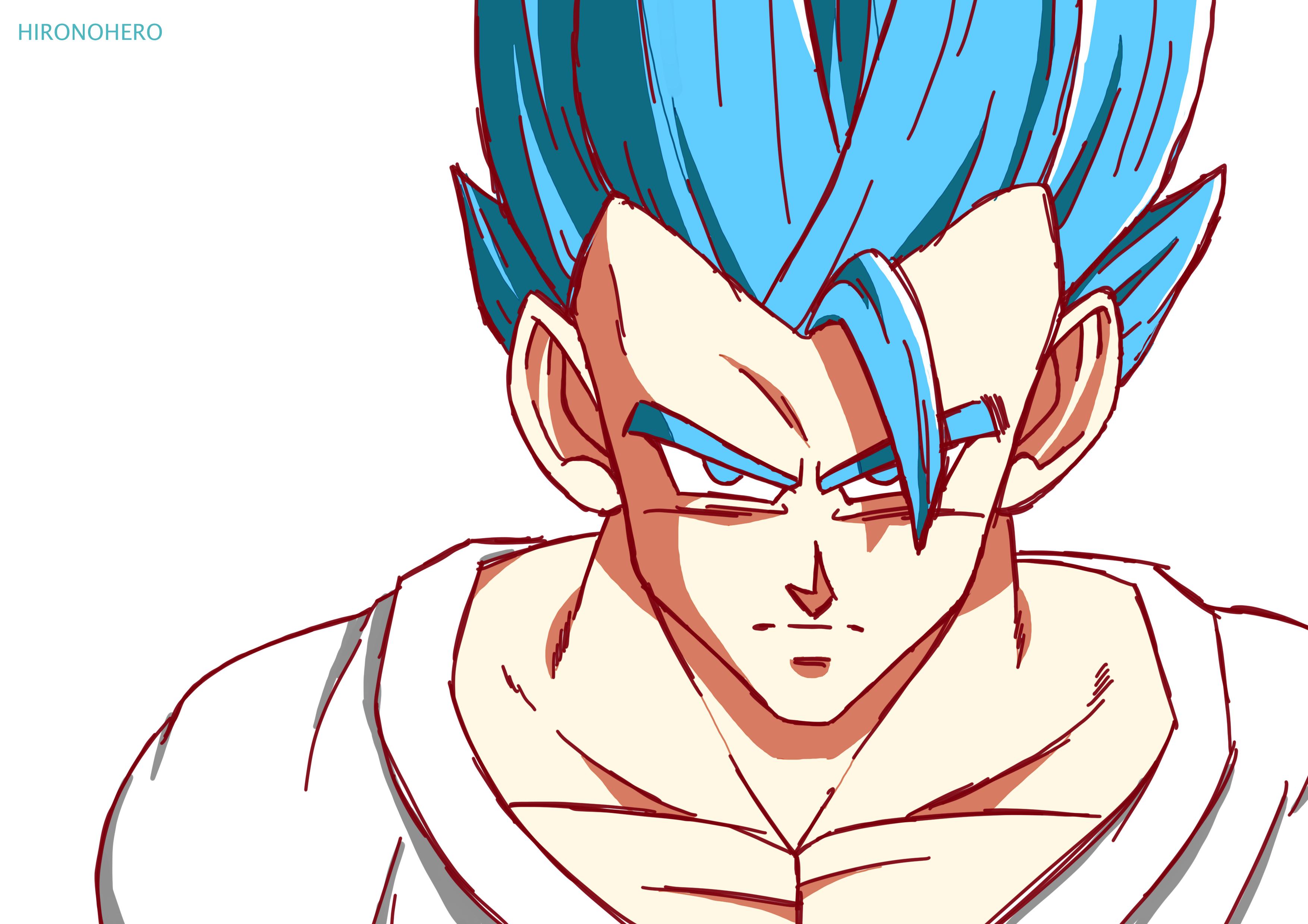 Gohan Super Sayian Blue