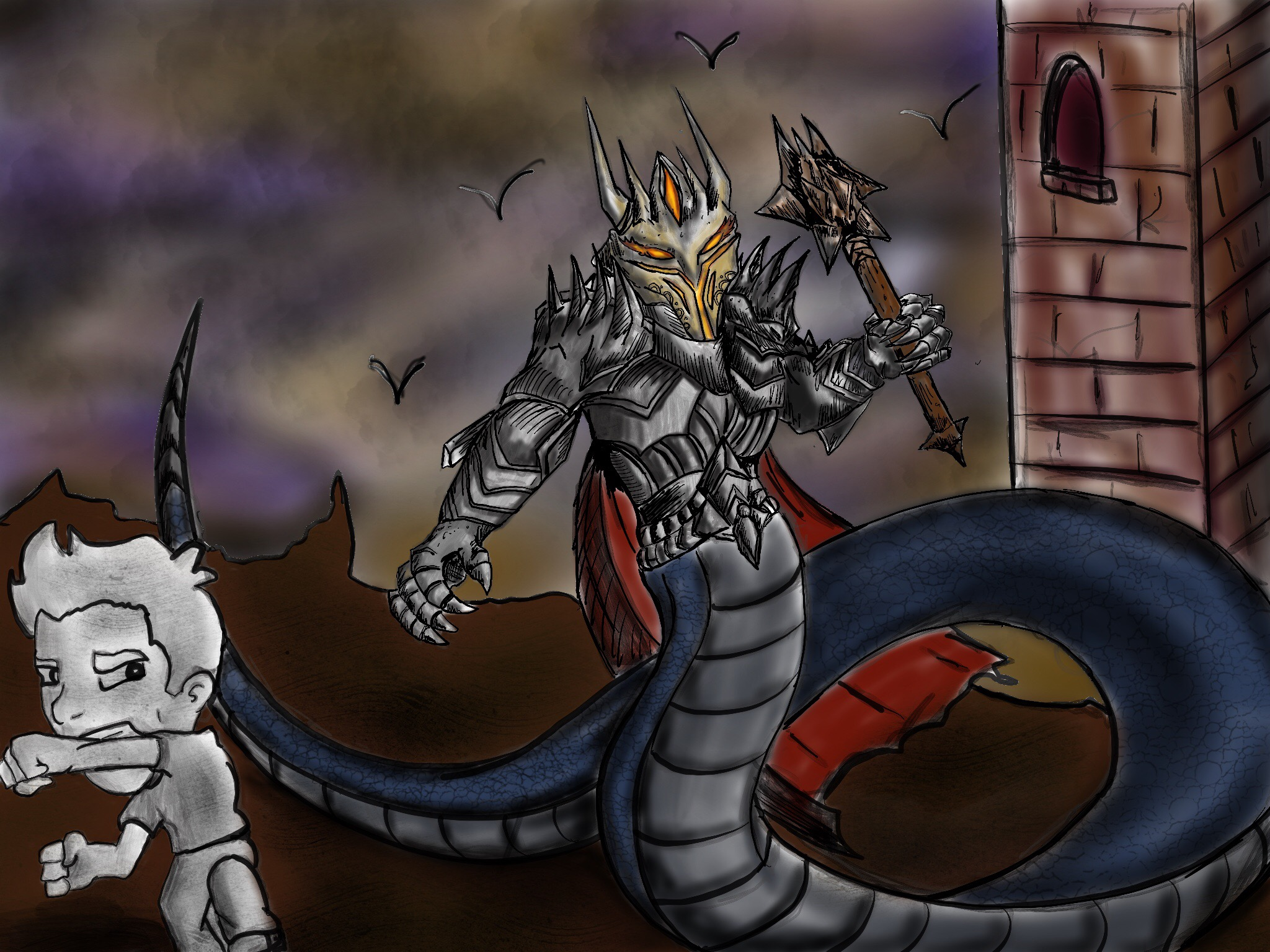 Sauron basilisk beats jazza