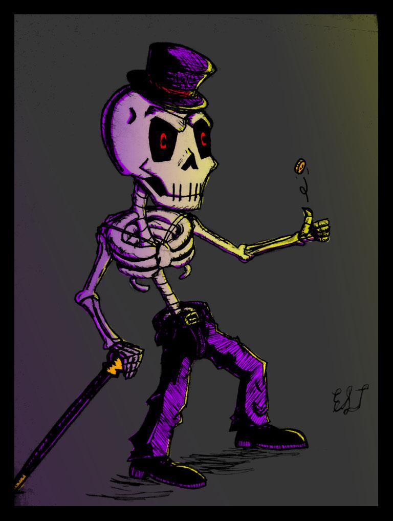 Mr. Fancy Skeleton