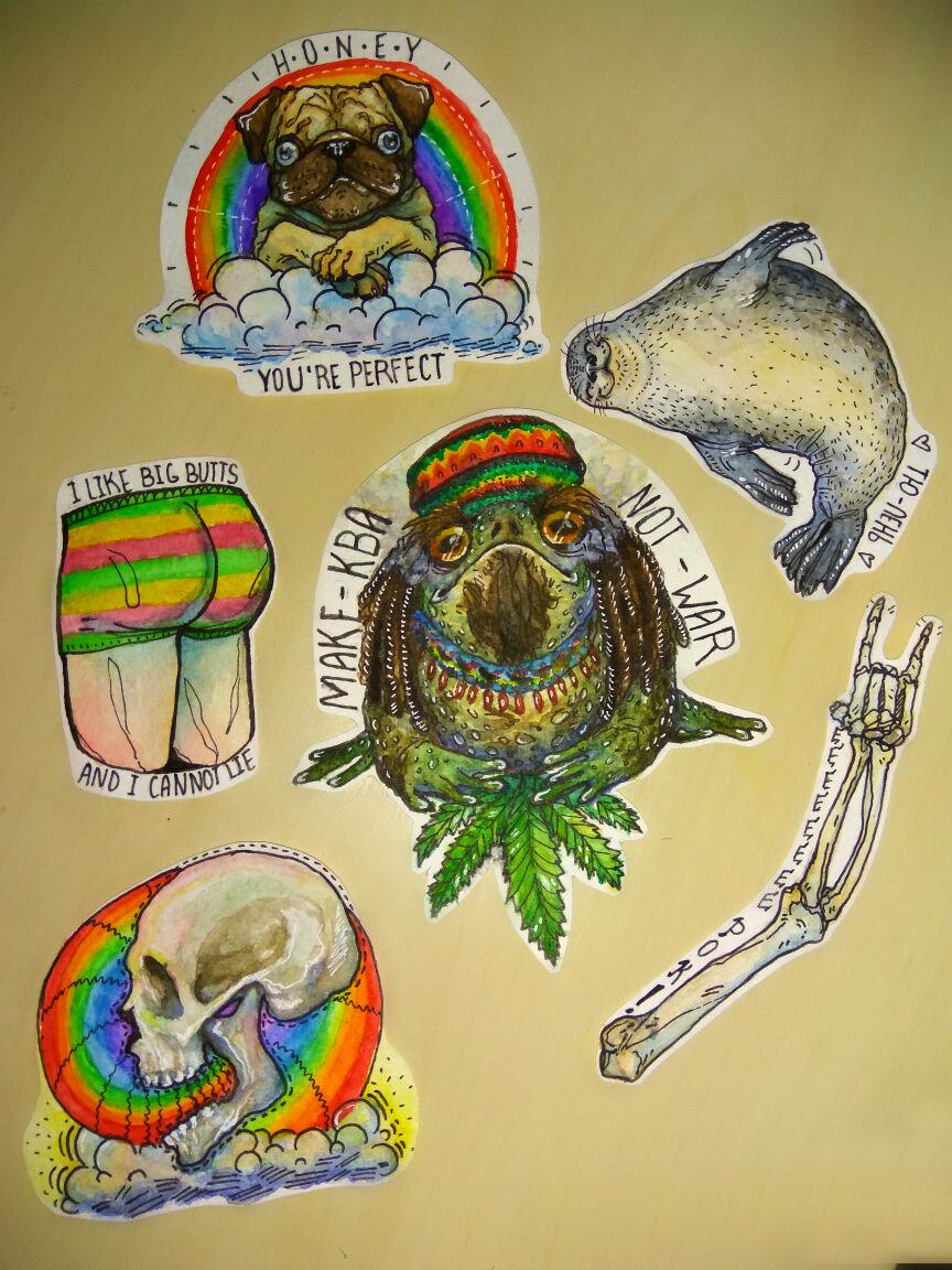 Ma stickers, ma stickers