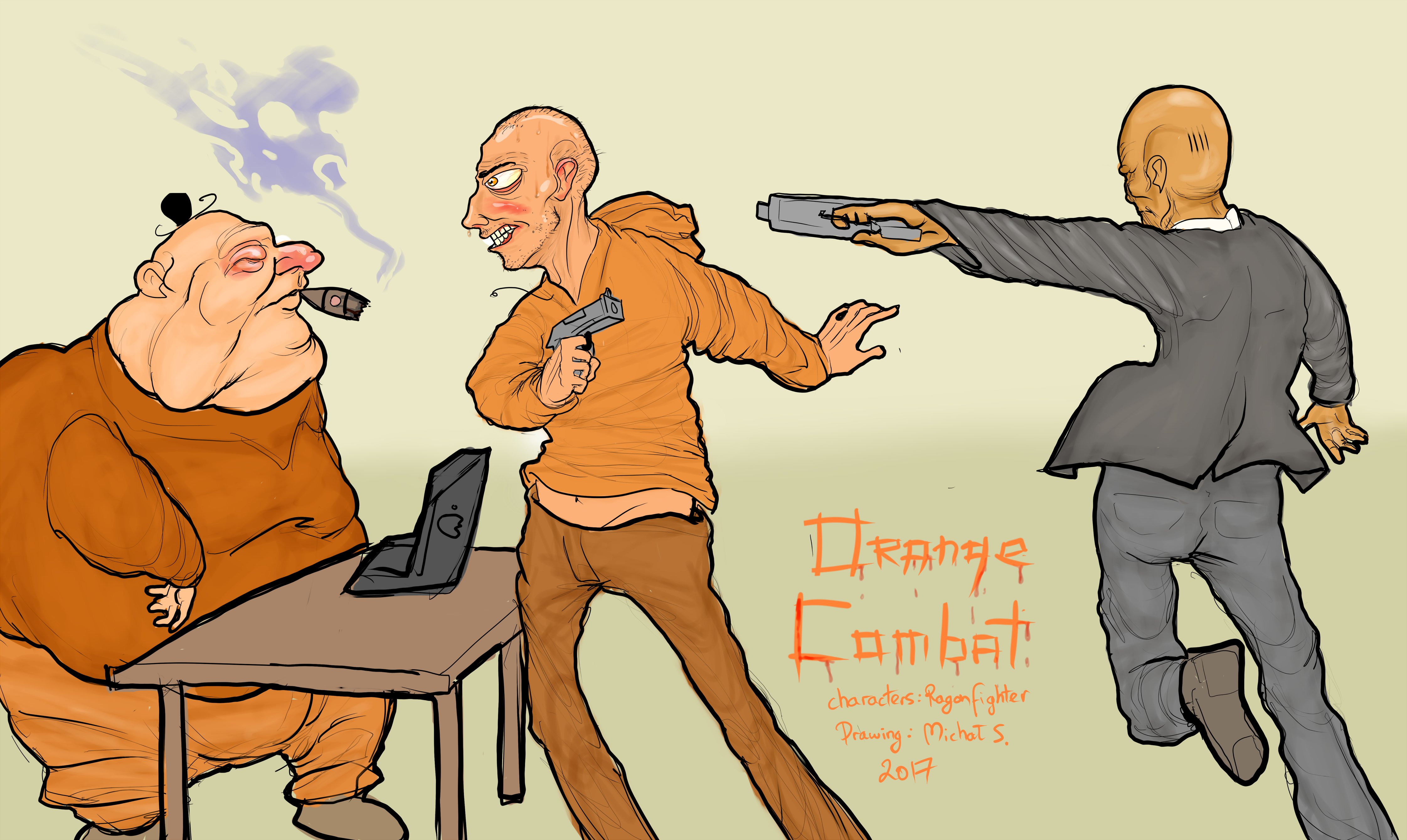 Orange Combat ep 4; Thank Bro Hitman