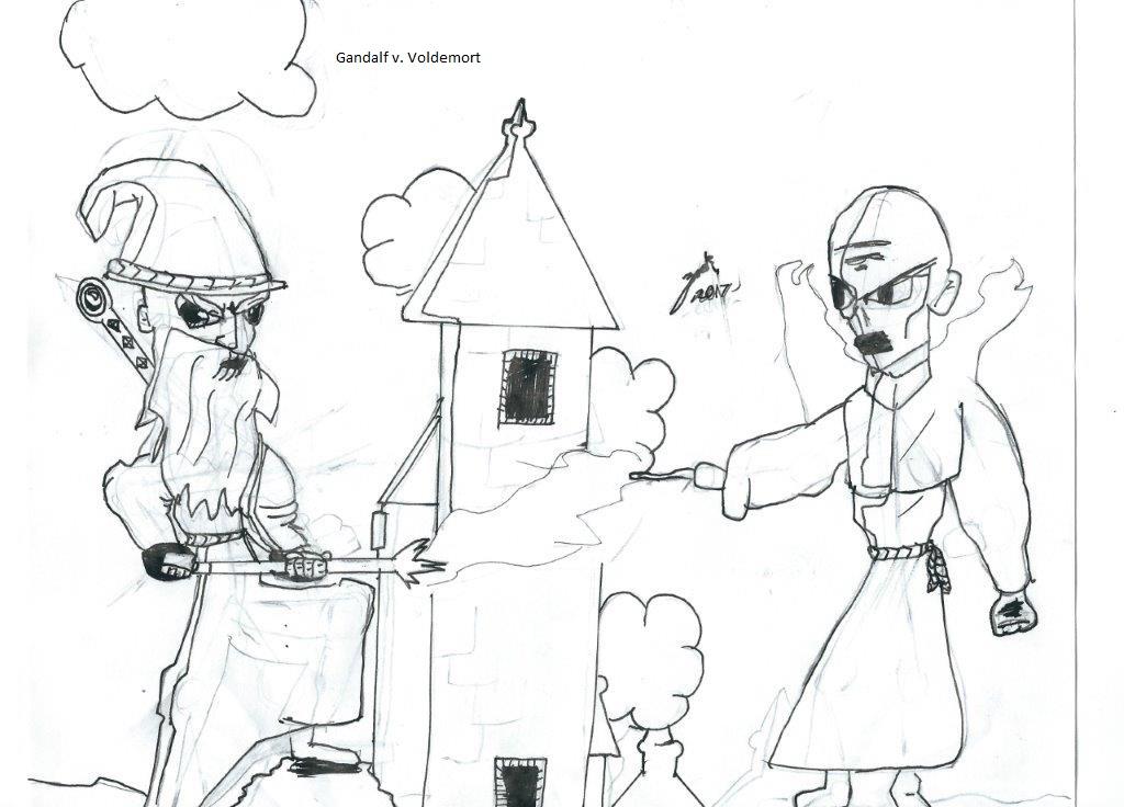 Gandalf vs. Voldemort - draft