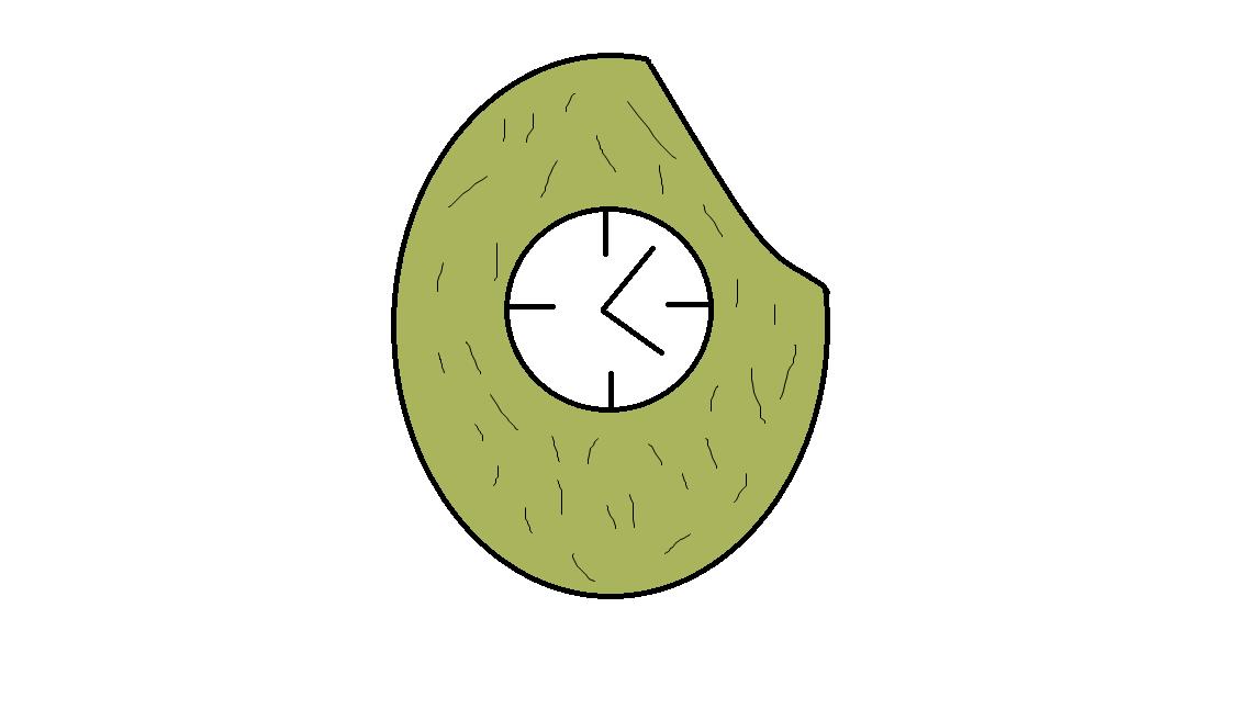 Jackfruit Clock