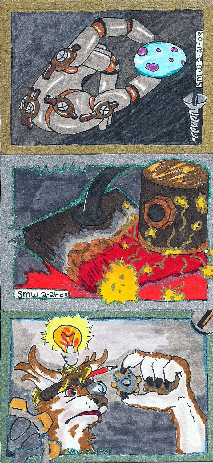 ATC Mechanical Inspired Trading Cards