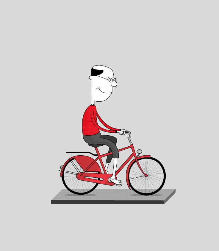 Bloke On Bike