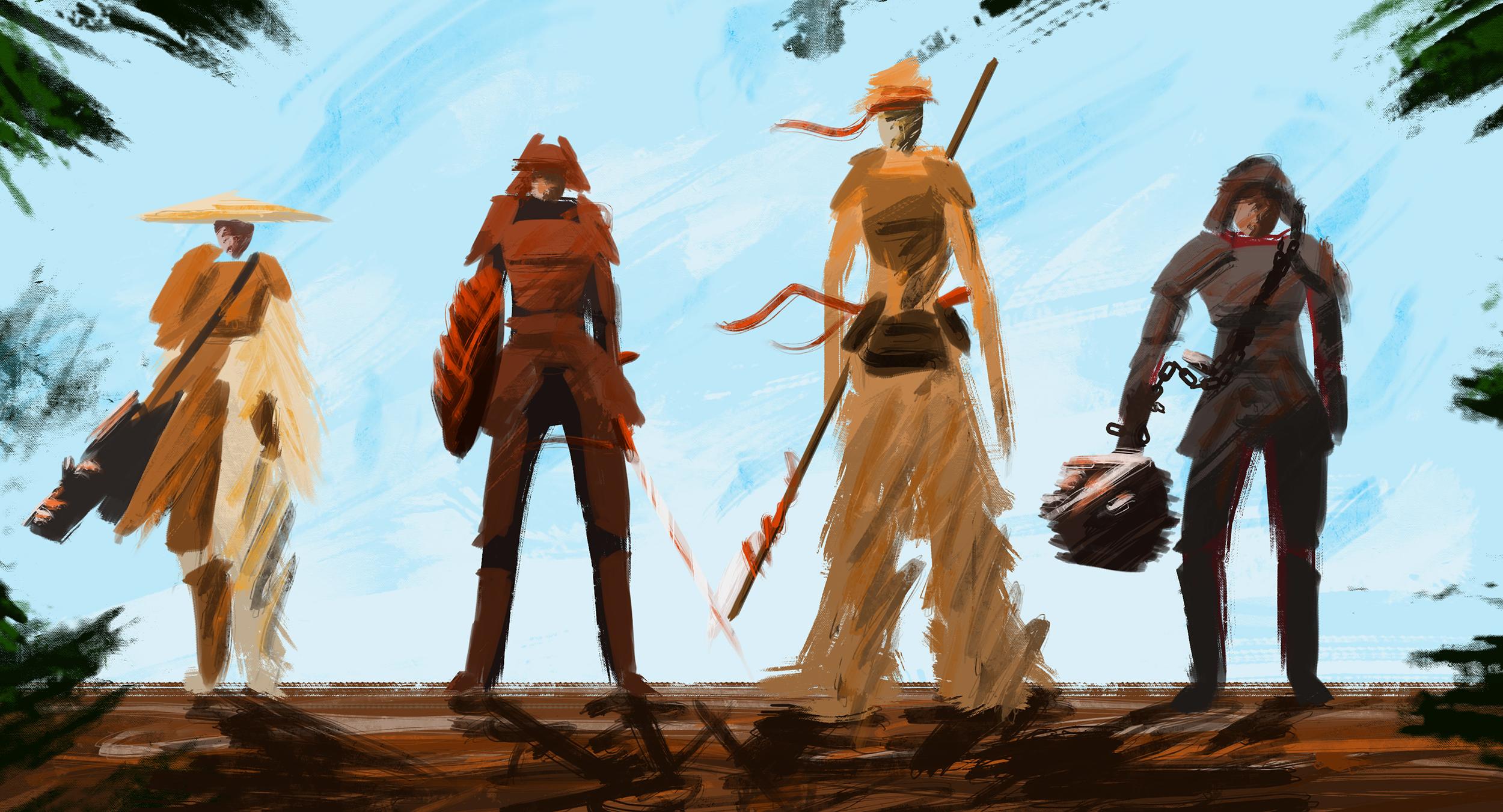 Sketch - Characters Design - The Pillar's Beast II