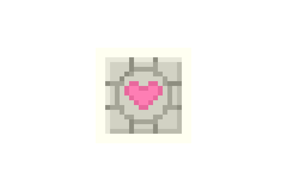 Companion Cube! (not by me)