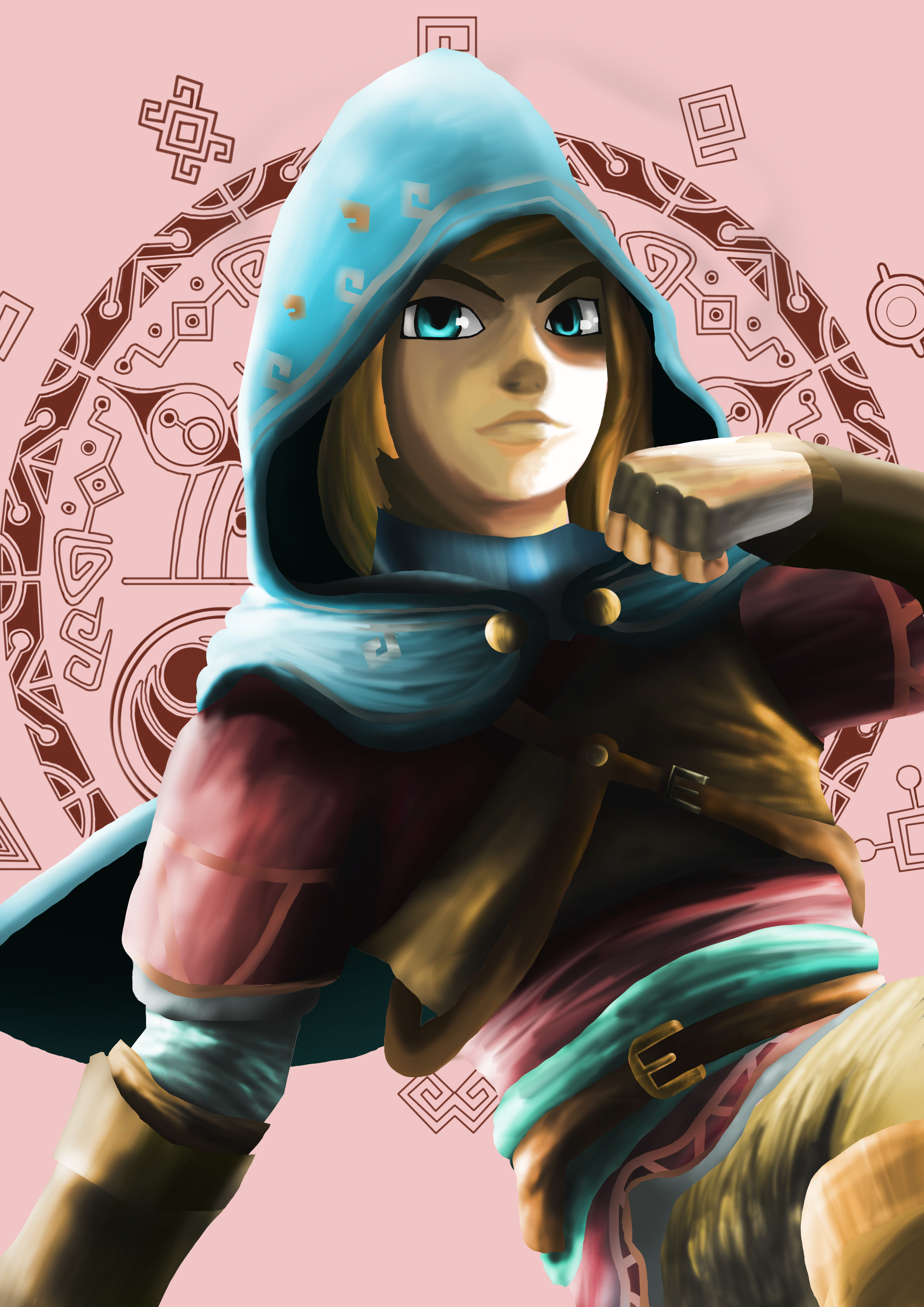 Link in Hylian Clothing
