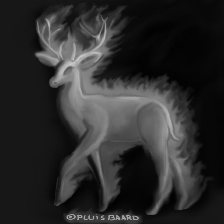 ShadowFlame Deer