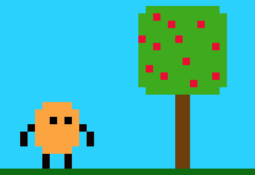 Potato and an Apple Tree