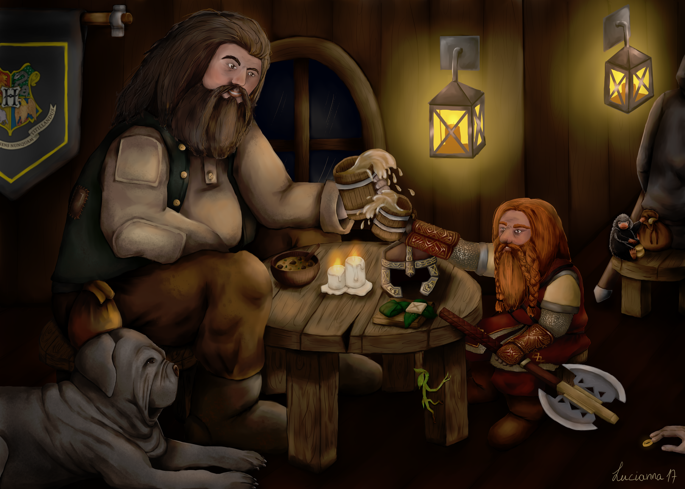 A magical tavern between the two worlds
