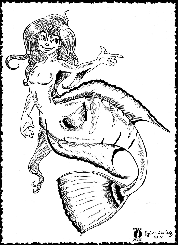 Angelfish Mermaid