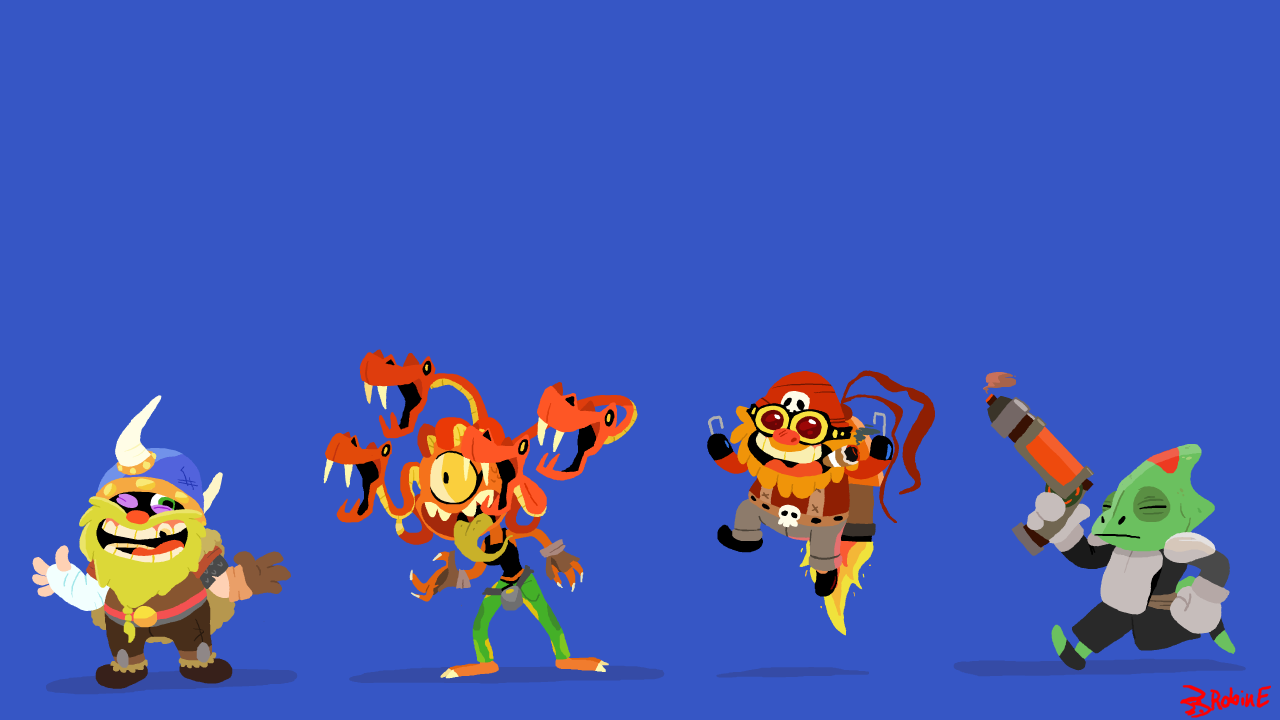 4 Character Designs