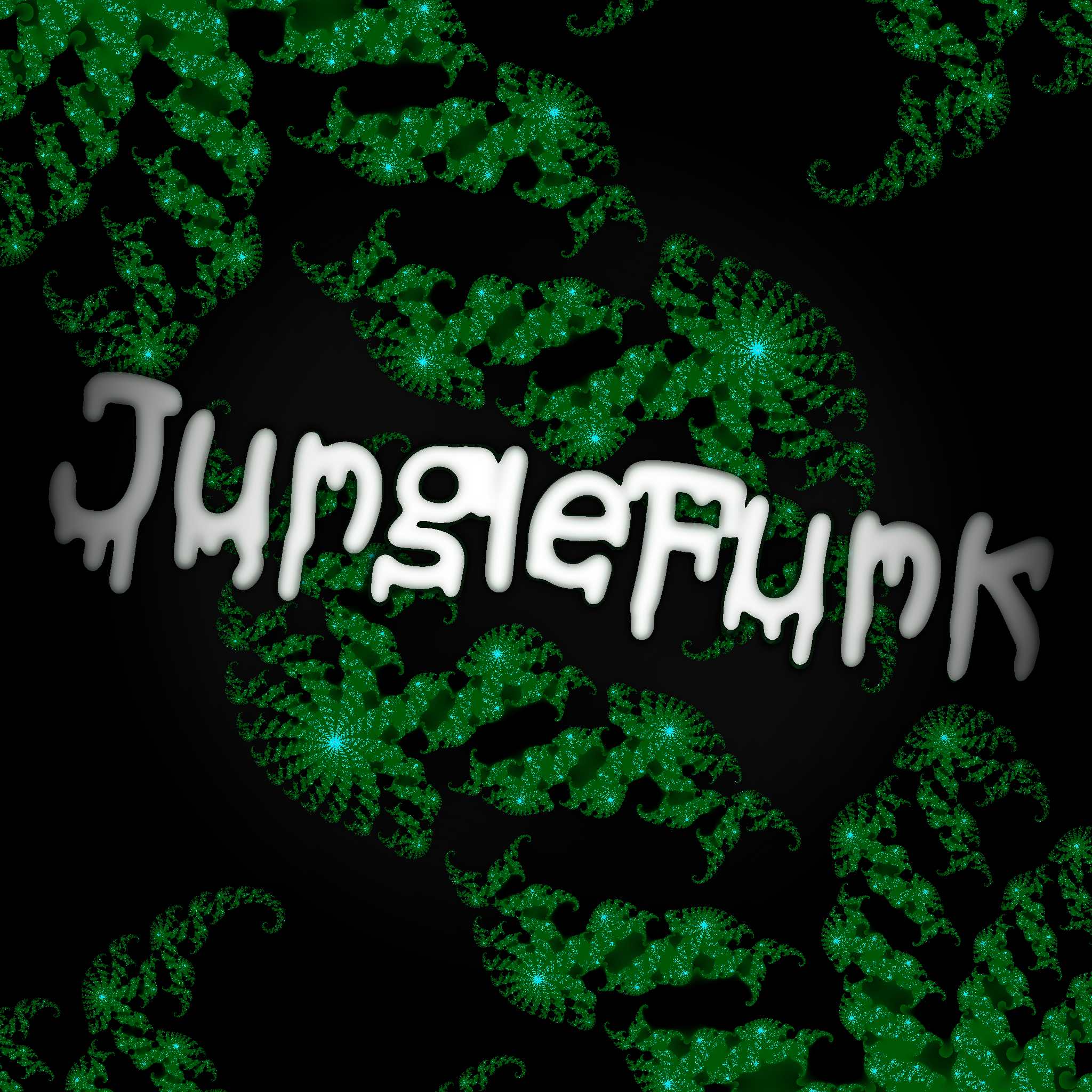 Junglefunk Album cover art.