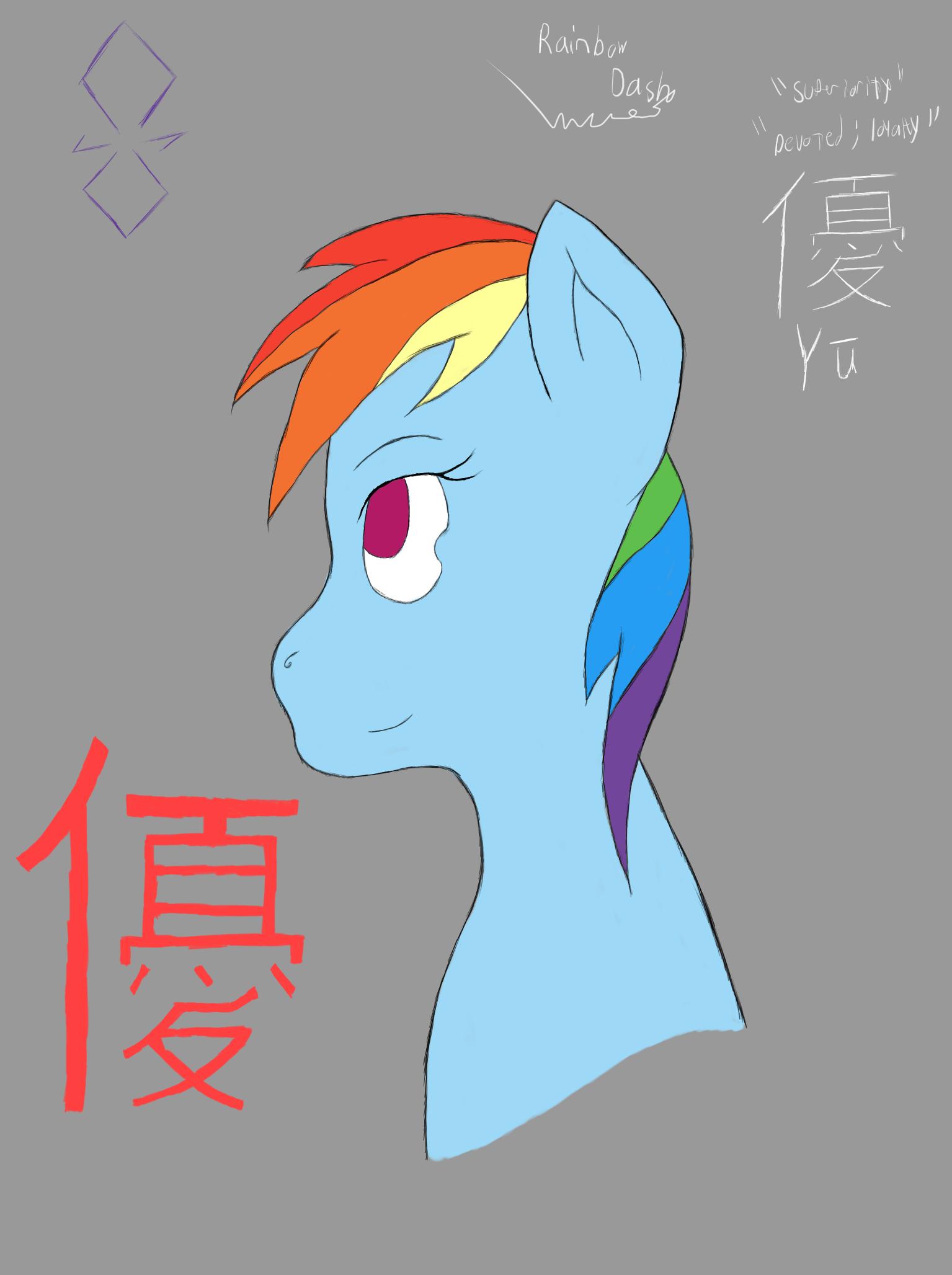 Rainbow Dash-Yu
