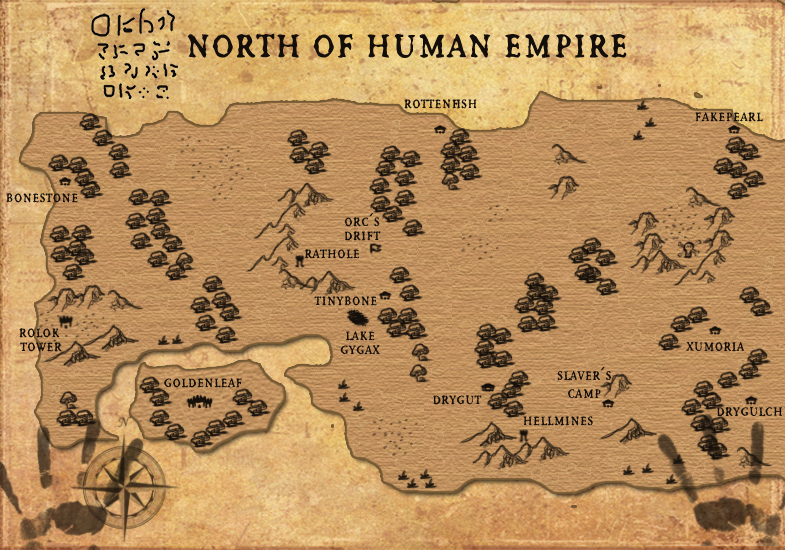 Orc Leader Map