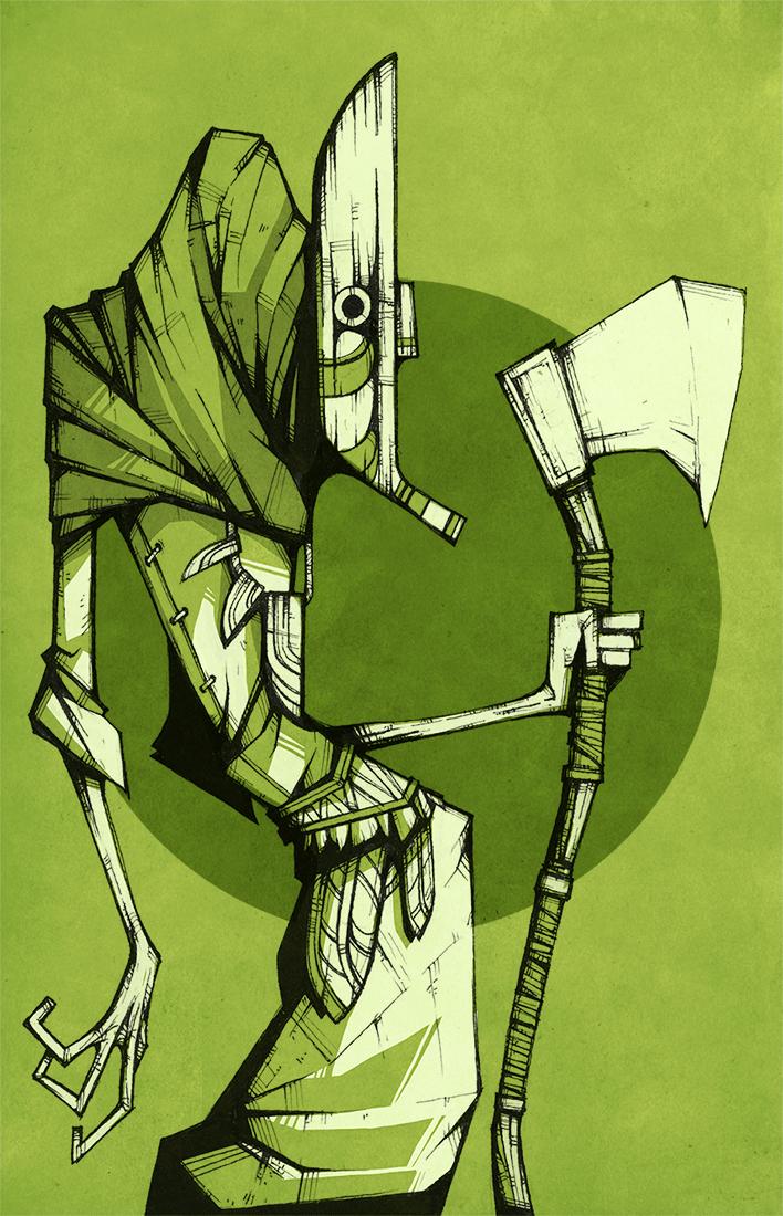 Lime Spirit Guard
