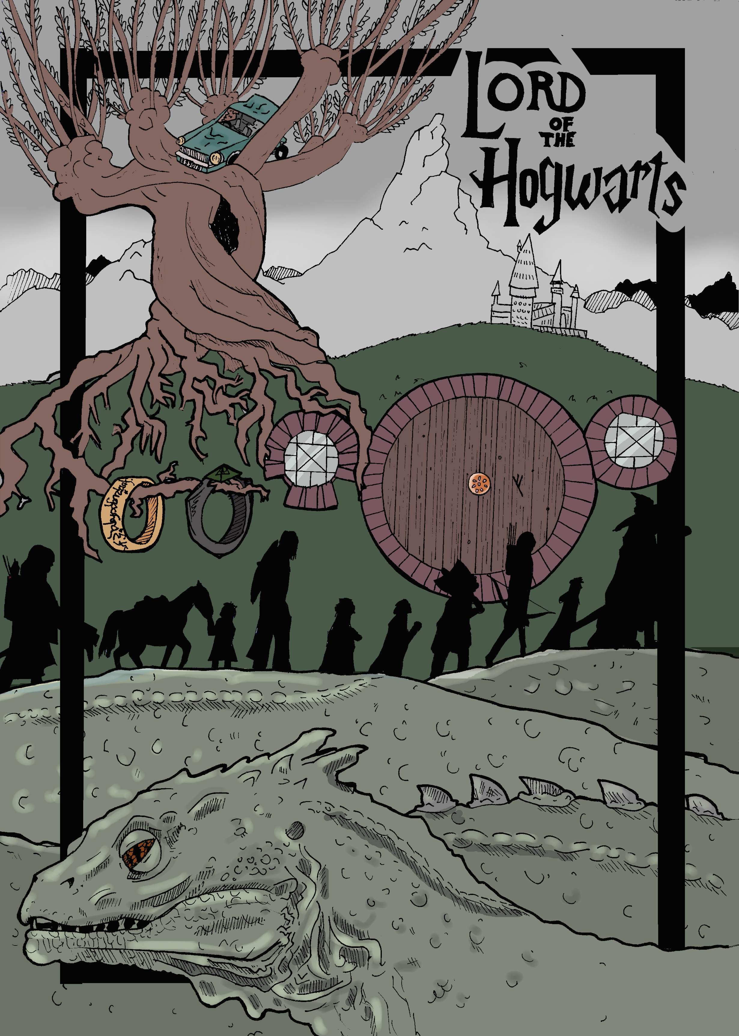 Lord of the Hogwarts poster