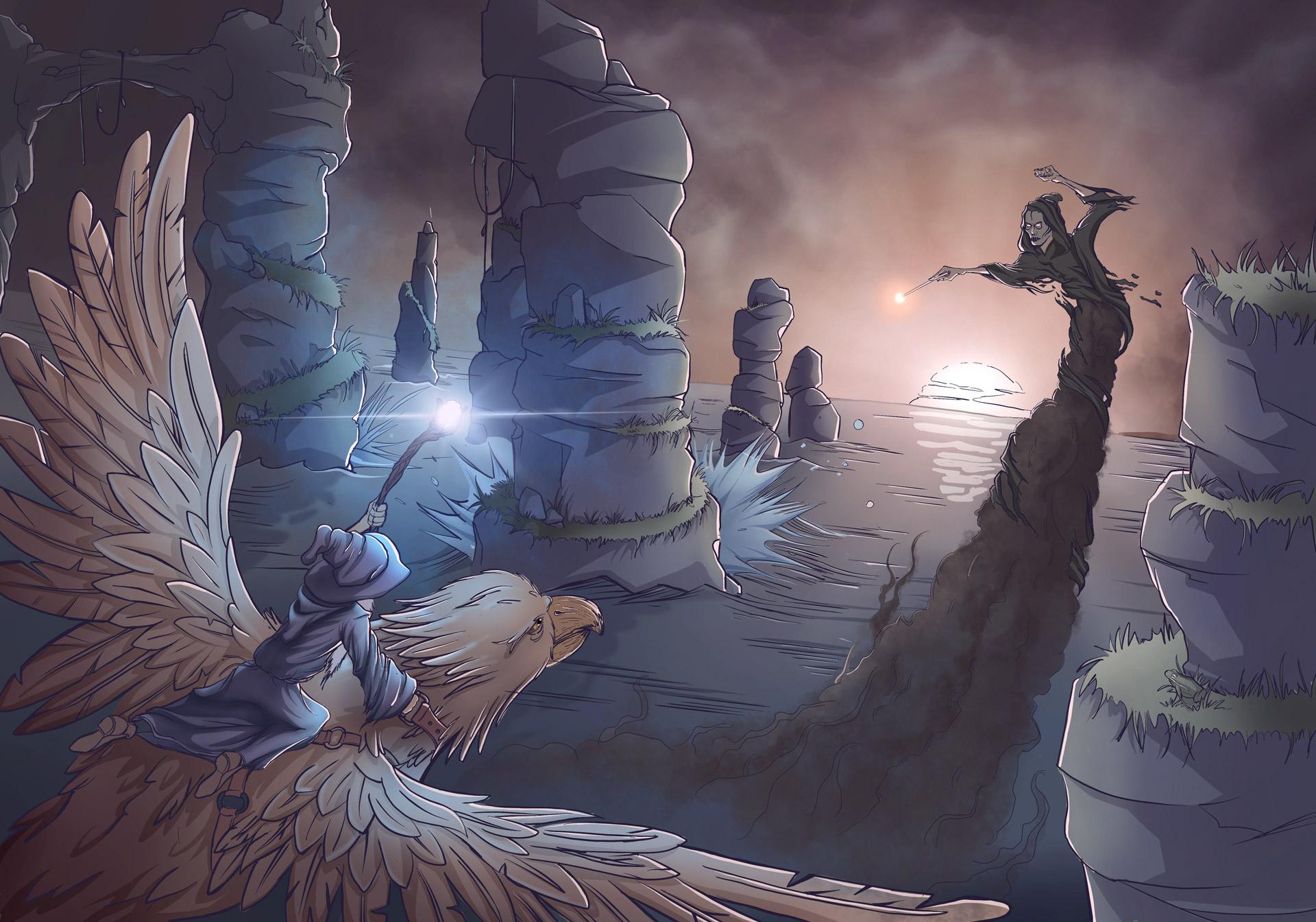 Gandalf vs deatheater