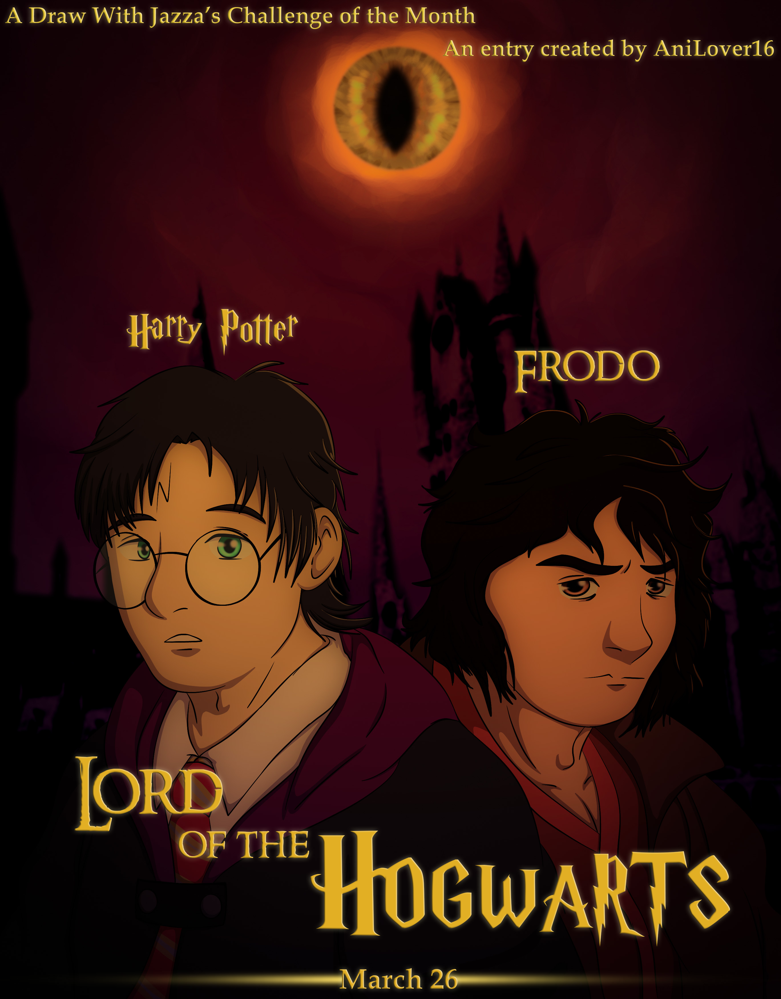 Lord of the Hogwarts (Poster Version)