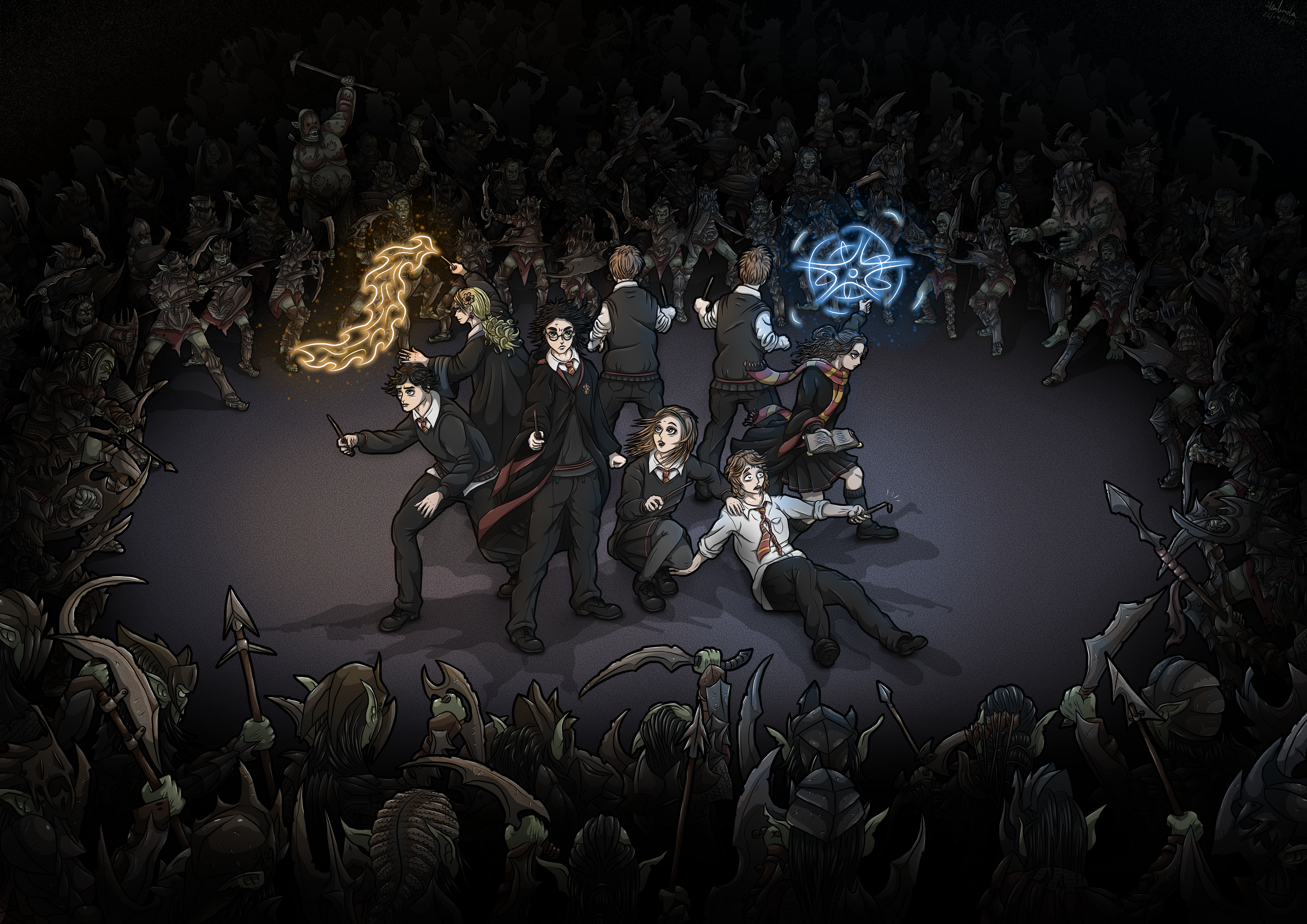 """Lord of the Hogwards """"Surrounded"""""""