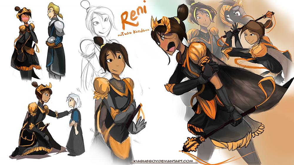 Human Reni- revisited
