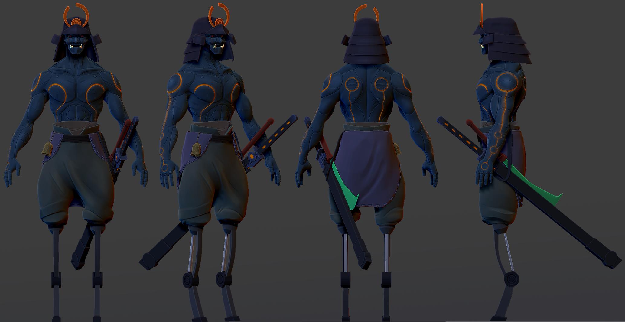Samurai Ghost XXXl