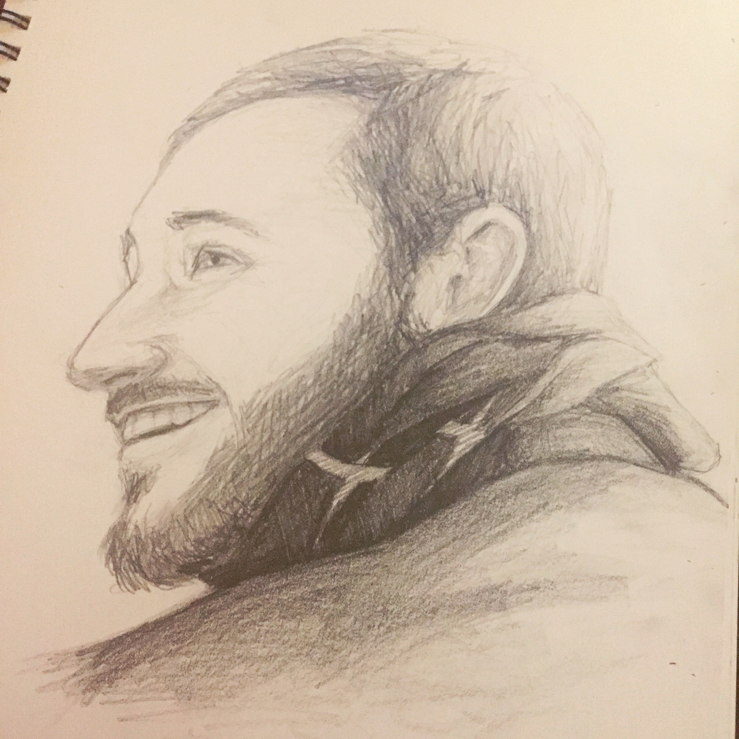 Portrait of my brother