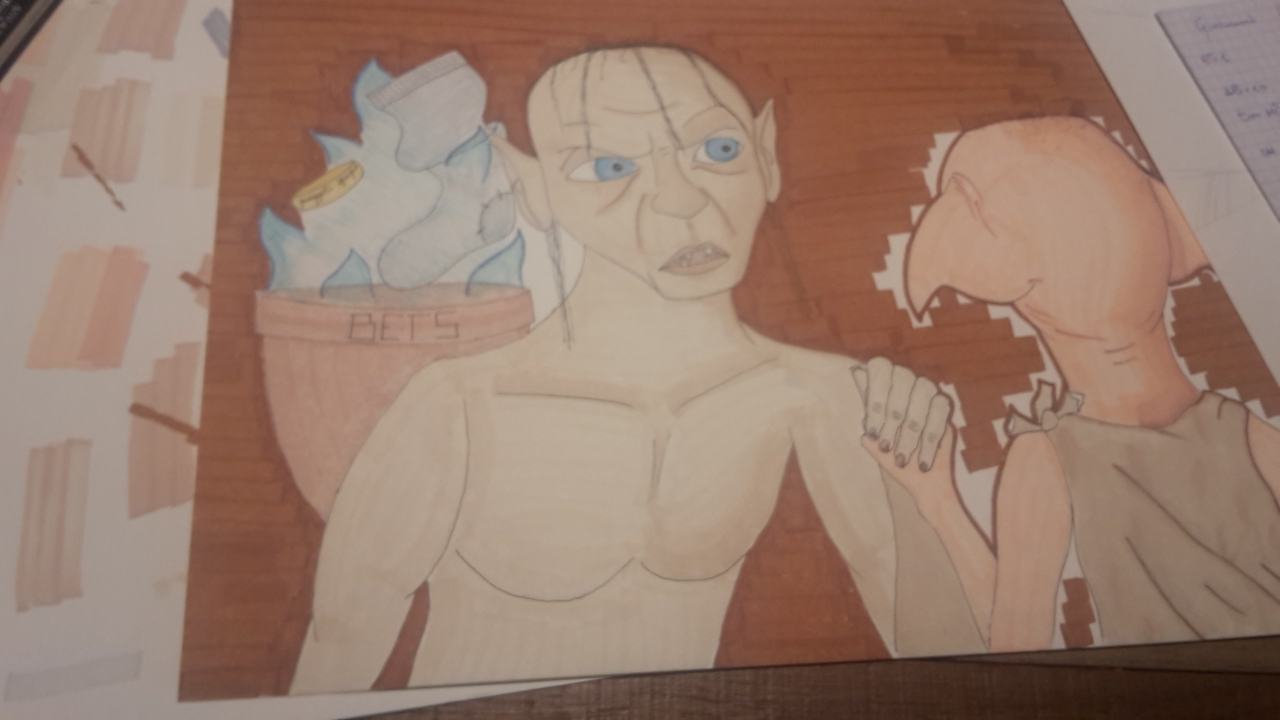 Gollum vs Dobby