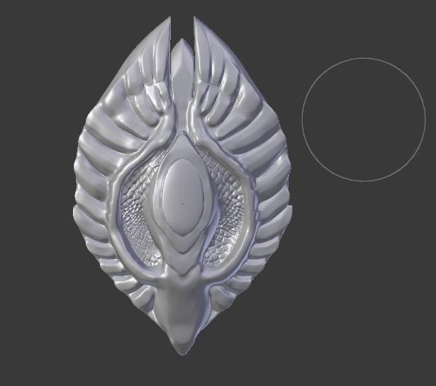 Elf Shield from Skyrim