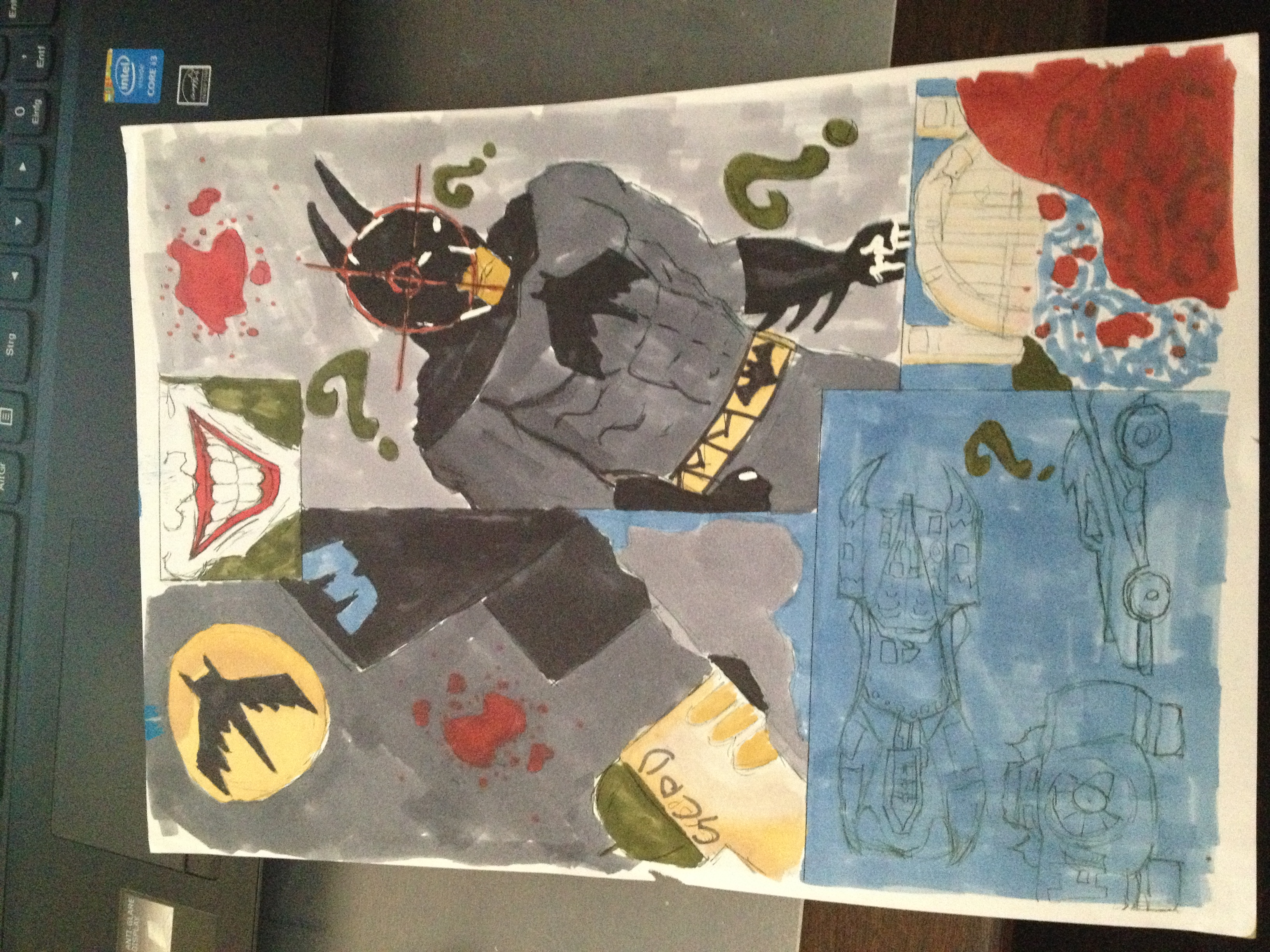 A Design of a Batman Piece That I Did