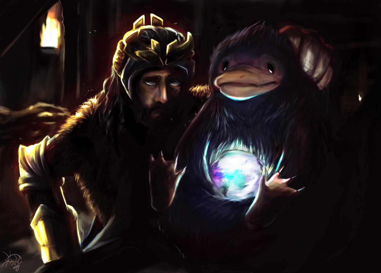 The Dwarf And the Burglar