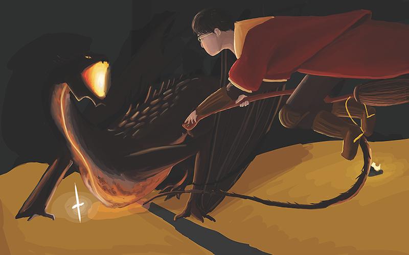 Potter Seeking the Arkenstone