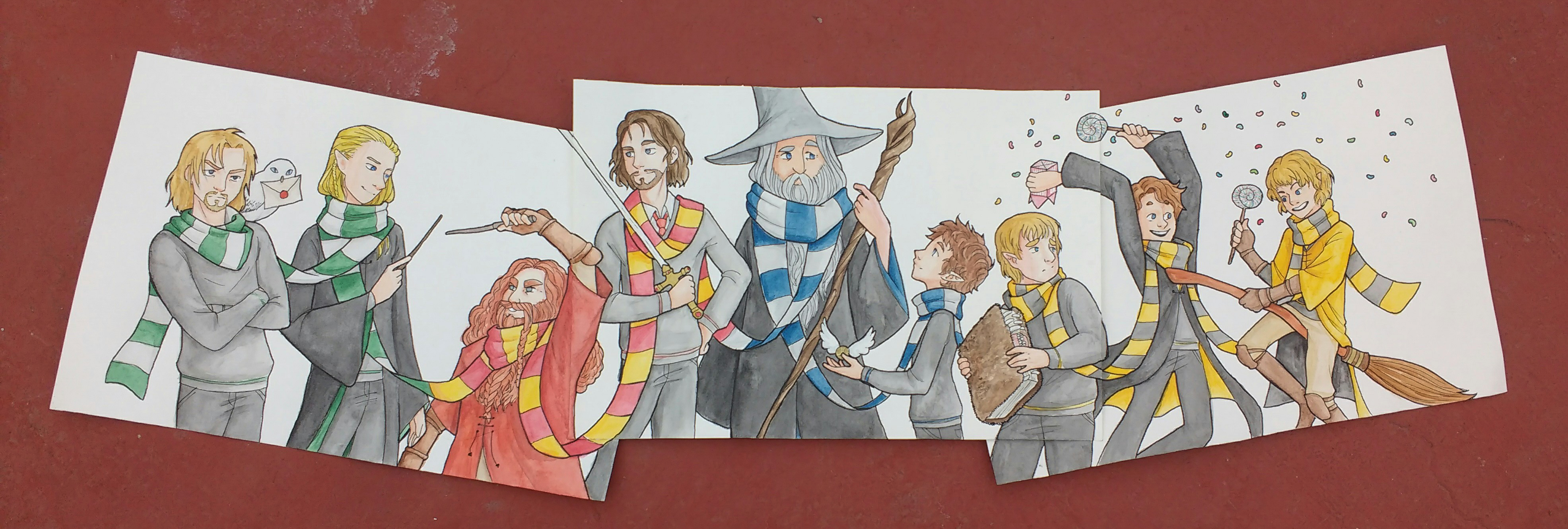 The fellowship of Hogwarts
