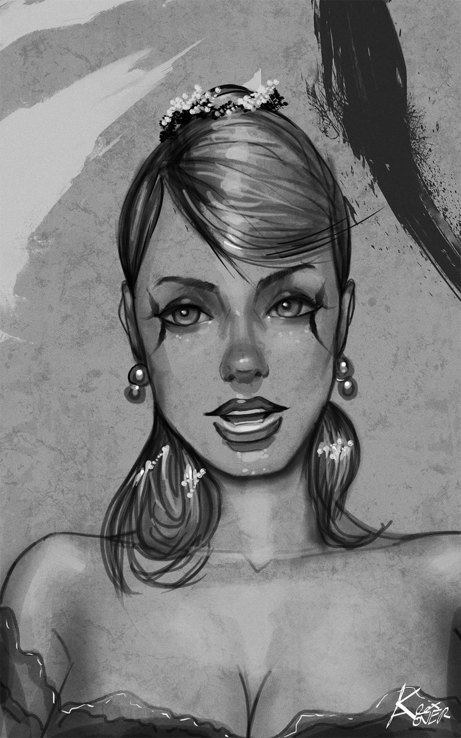 Pinup portrait