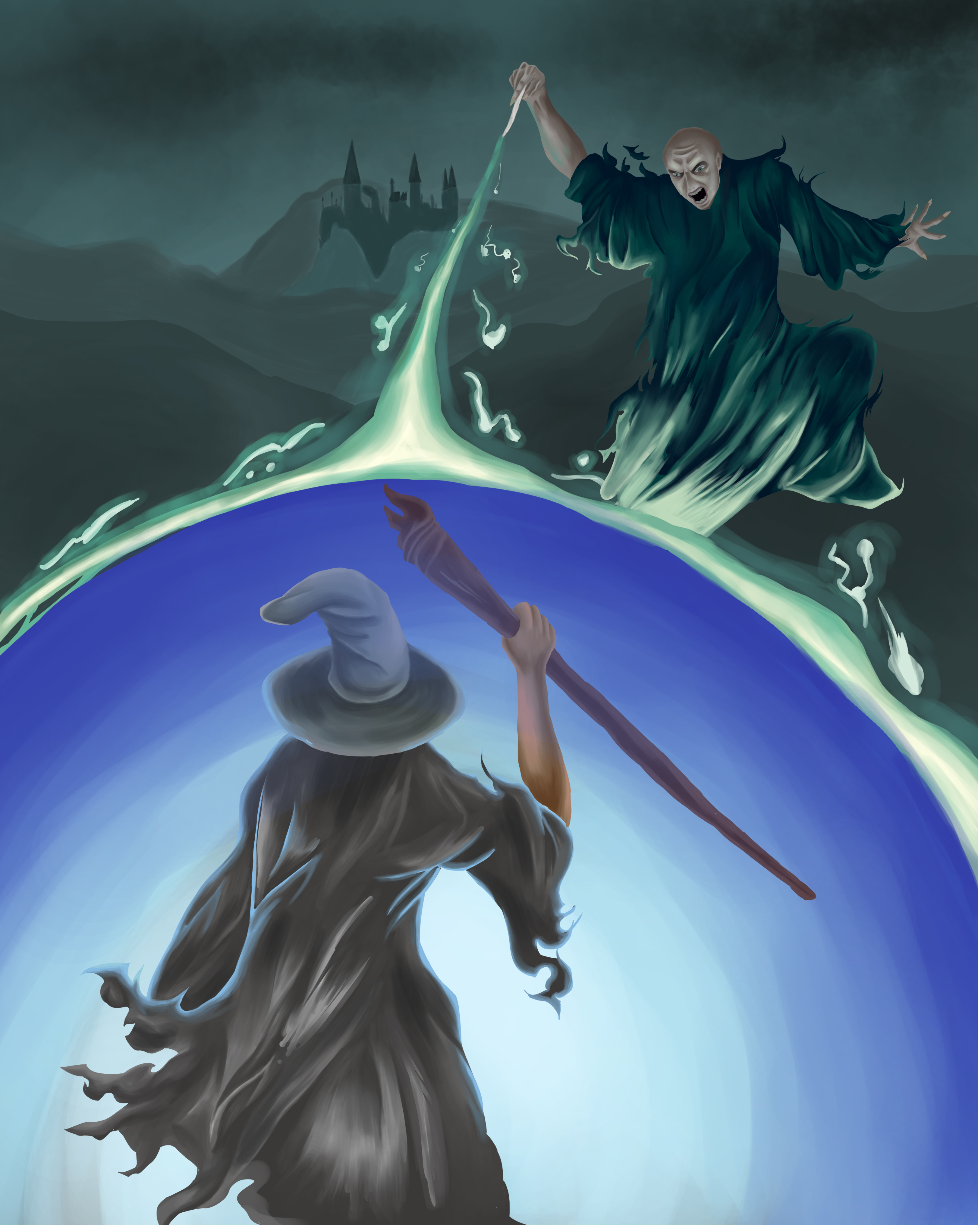 The Clash of Wizards