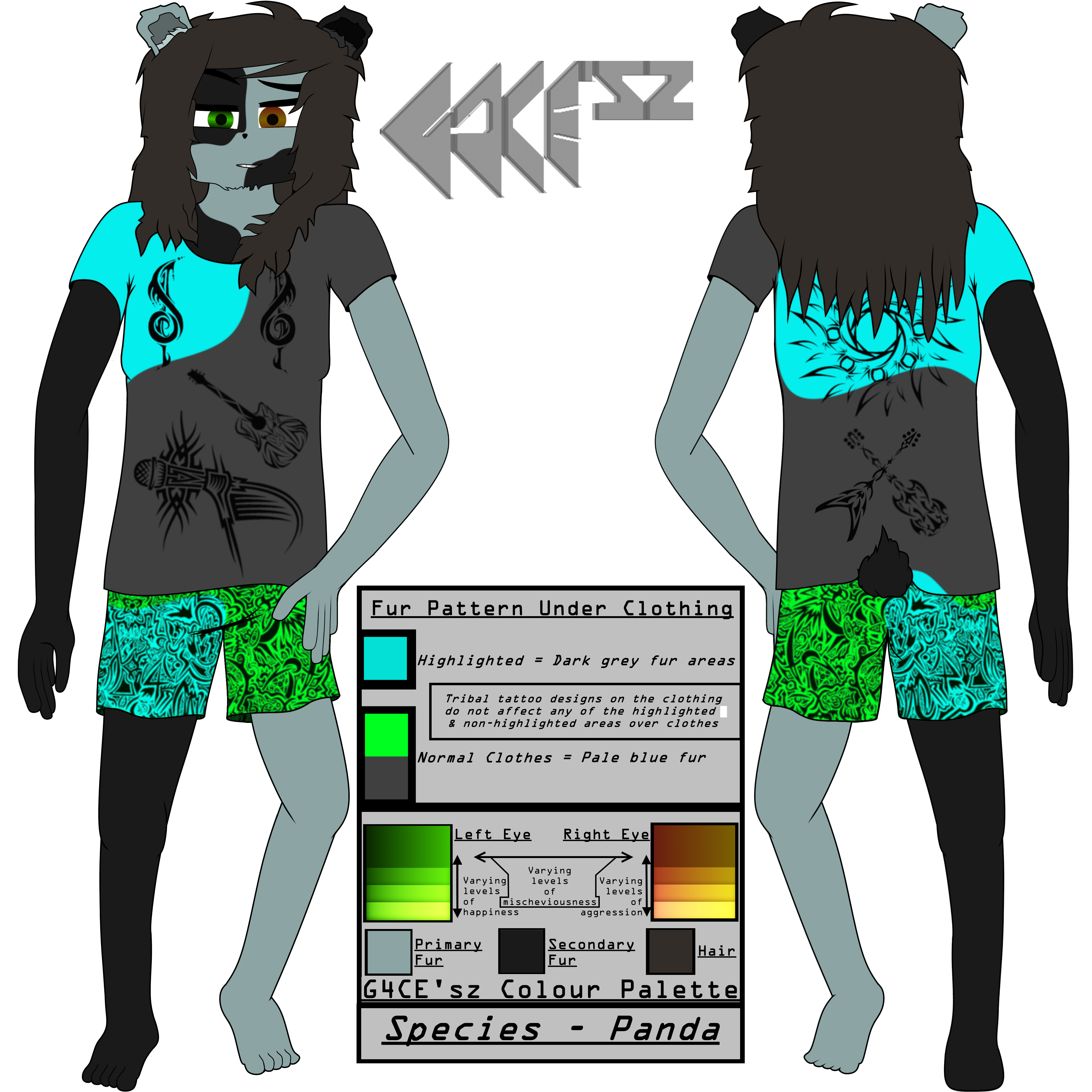 G4CE'sz Reference Sheet