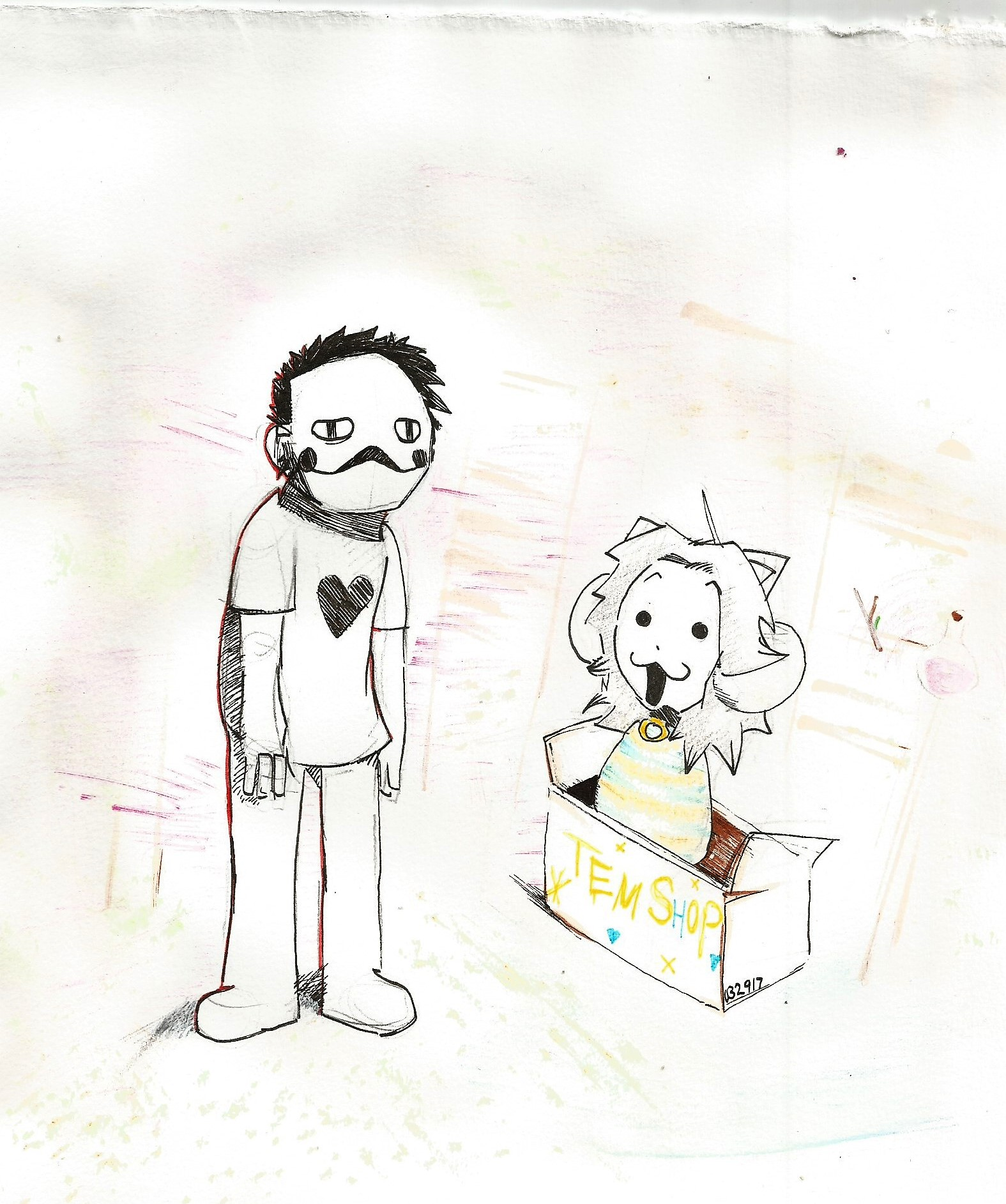 Zacharie and Tem