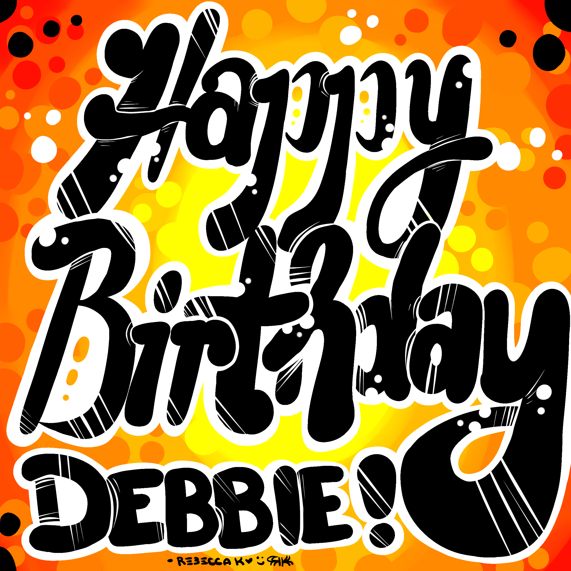 Happy Birthday Debbie By Bekoe On Newgrounds