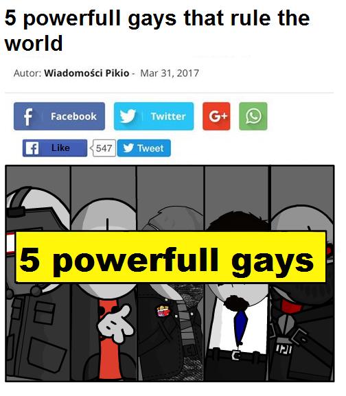 5 powerfull gays