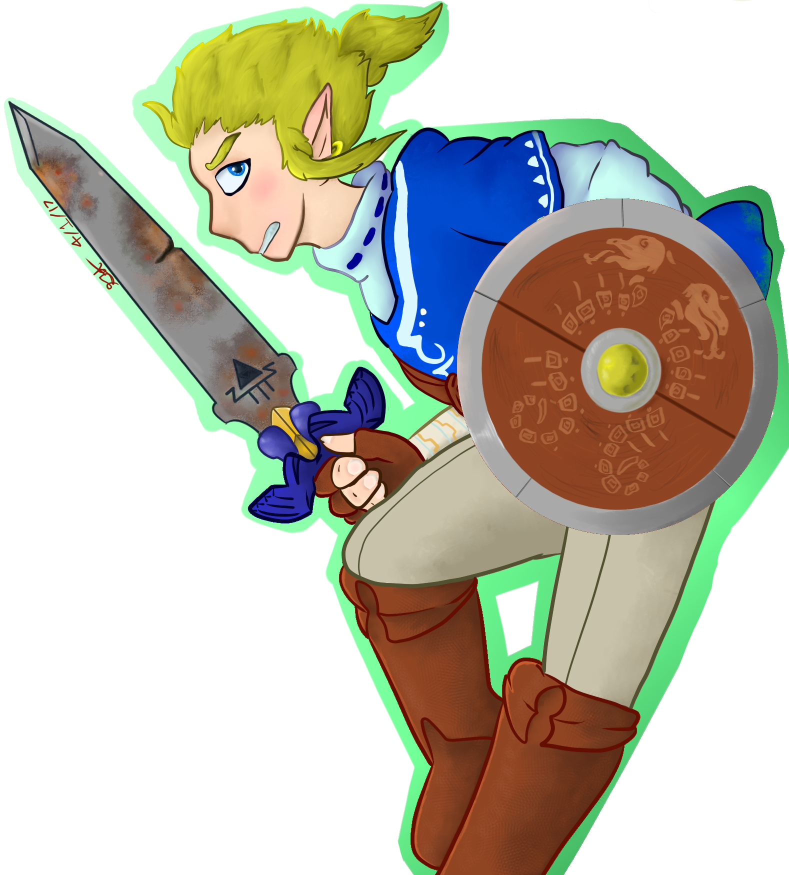 Link needs a new sword.