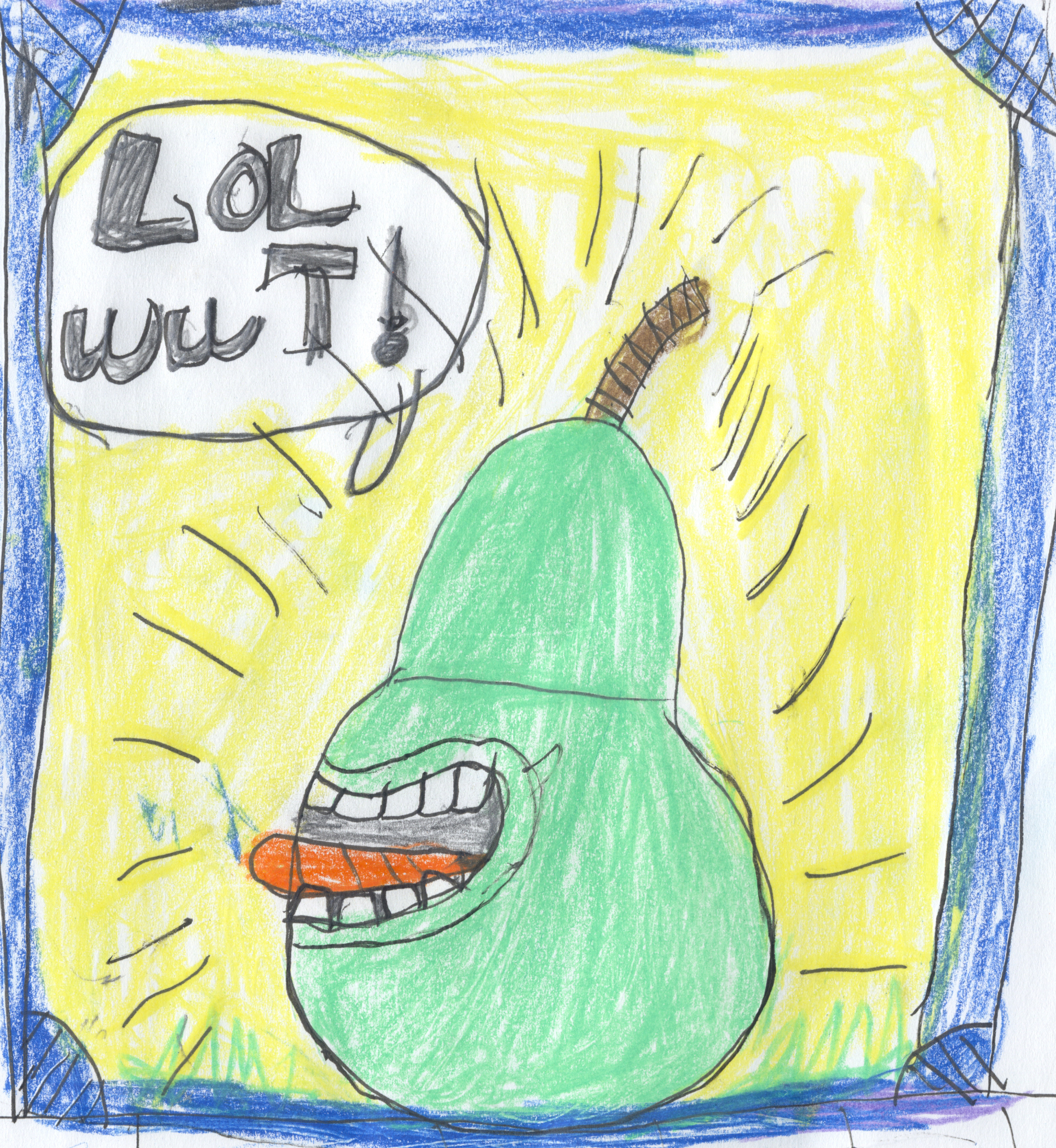 Biting Pear