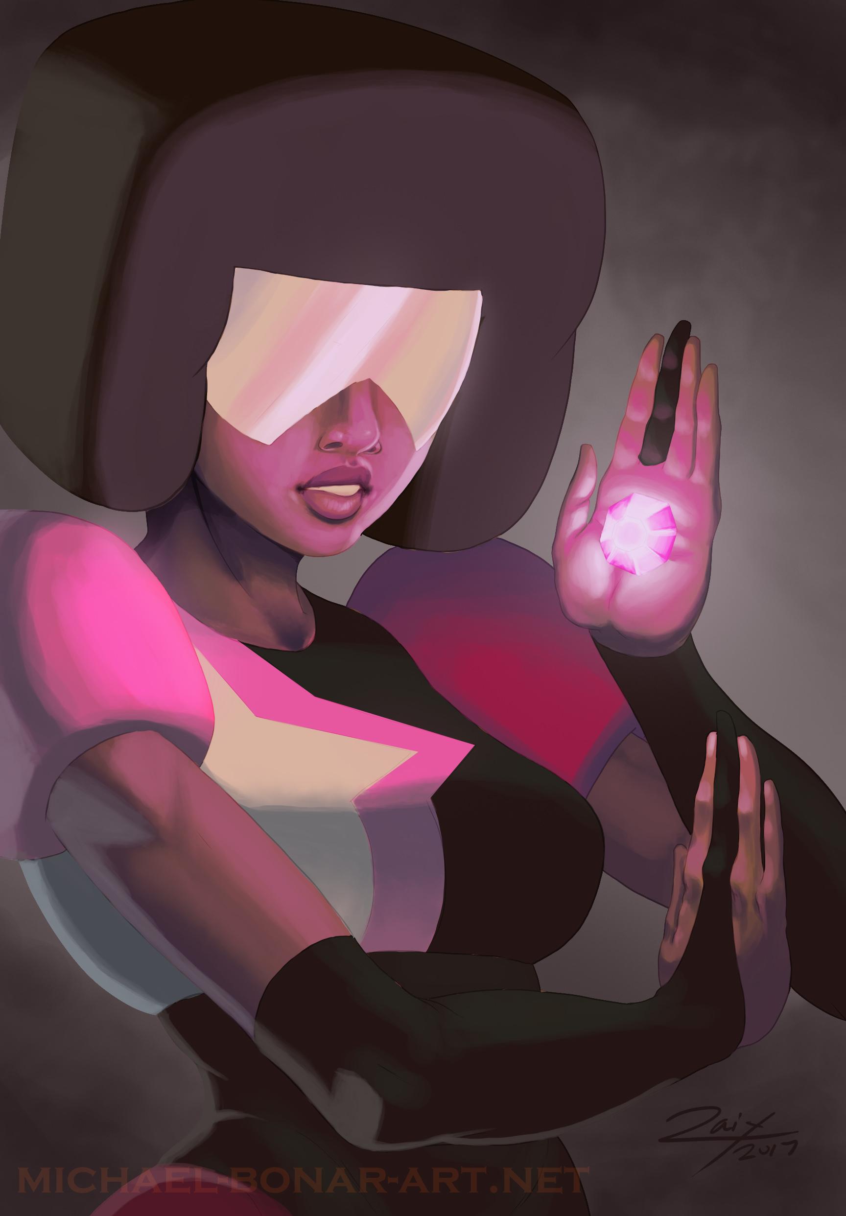 Crystal Gem Garnet