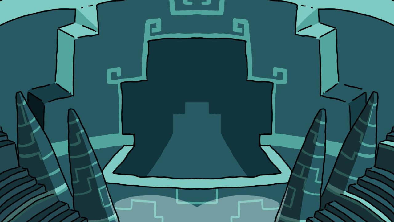 Alien Throne Background